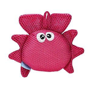 Esponja de Banho Bubbles Caranguejo Fofo - Multikids Baby