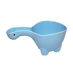 Caneca de Banho Dino Azul - Baby Bath