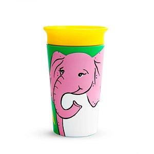 Copo de Treinamento 360 (Miracle Cup) Wild Elefante 270ml - Munchkin