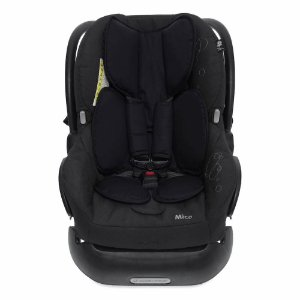 Almofada para Bebê Conforto Preto - Momis Petit