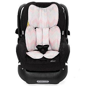 Almofada para Bebê Conforto Candy Rosa - Momis Petit