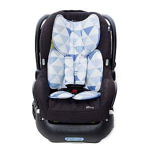 Almofada para Bebê Conforto Candy Azul - Momis Petit