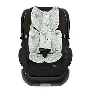 Almofada para Bebê Conforto Gatinhos - Momis Petit