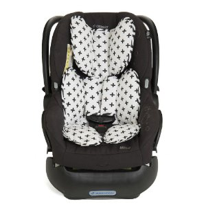 Almofada para Bebê Conforto Modern Black - Momis Petit