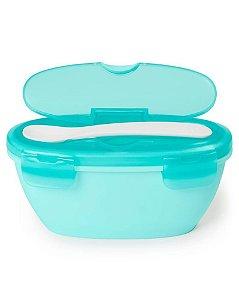 Kit Alimentação Tigela e Colher Easy-Serve Azul - Skip Hop