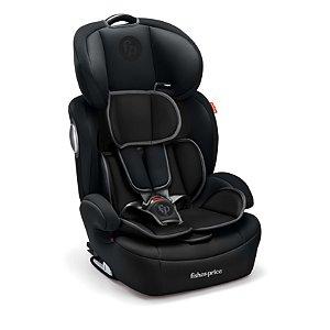 Cadeira para Auto Safemax Fix 9 a 36Kg Preto - Fisher Price