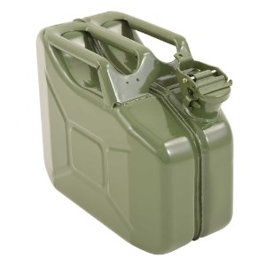 GALÃO DE METAL 10L 0.6MM JERRY CAN
