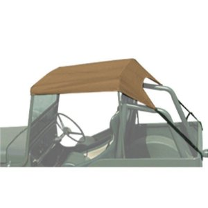 TOLDO BEGE JEEP WILLYS / FORD CJ3