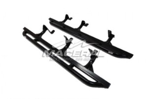 ESTRIBO ROCK SLIDER COM BODY LIFT 2'' (ALTA) XTERRA