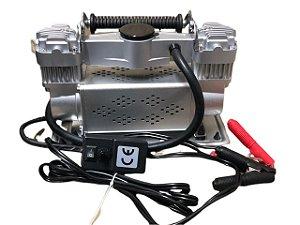Compressor De Ar 150 Lbs Portátil 12v Pistão Duplo