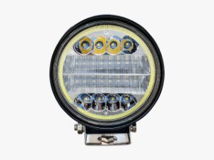 Farol Milha Led 72w Angel Eyes