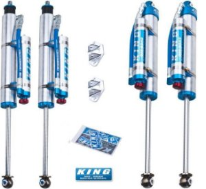 "Amortecedores King Off Road Racing Shocks 2.5"" OEM para Jeep Cherokee XJ"