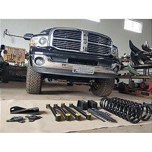 "Kit Lift de Suspensão Dodge Ram 4"" 2005 - 2012"