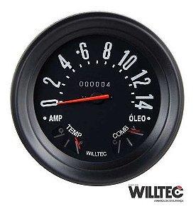 Velocimetro Temperatura Combustível Willys F75 Rural Jeep