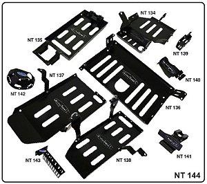 Kit de Protetores Inferiores Troller T4/TX4 - 10 peças (2020 em diante)