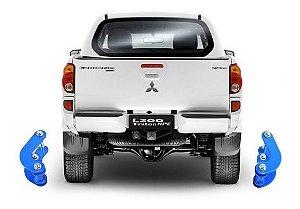 "Kit lift de Suspensão Mitsubishi Triton 2"" C/ Jumelo COMFORT"
