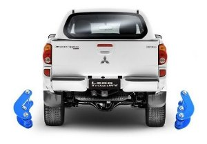 "Kit lift de Suspensão Mitsubishi All New Triton 1.5"" c/ Triton 1.5"" Jumelo COMFORT"