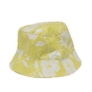 Bucket Hat Cata ovo - Estampado amarelo
