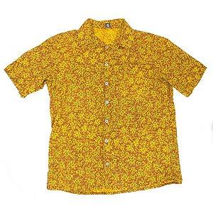 Camisa floral amarelo