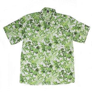 Camisa com folhas