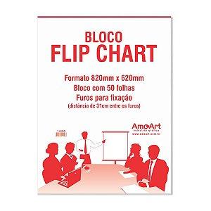 Bloco Flip Chart - 82x62cm - 1 unid.