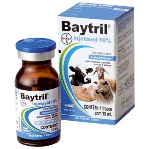 BAYTRIL INJ 10% - 10ML
