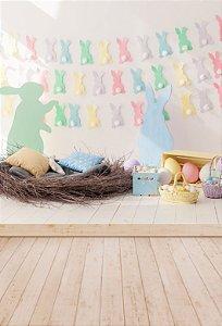 Fundo Fotográfico em Tecido Easter Candy