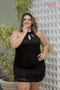Vestido Renda Mini Plus Size