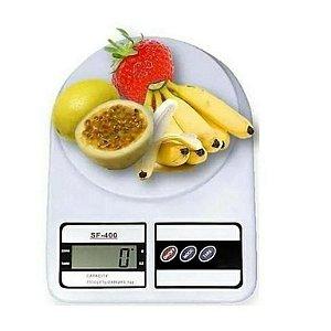 Balança Digital De Cozinha 1g À 10kg Alta Precisão com 2 Pilhas AA Baixo consumo de energia