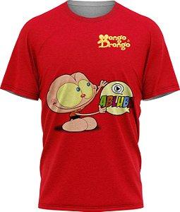 Mongo Abluba - Camiseta - Vermelha - Malha Poliéster
