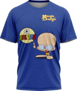 Drongo Abluba - Camiseta  - Azul - Tecido Dryfit