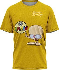 Drongo Abluba - Camiseta  - Amarelo - Tecido Dryfit