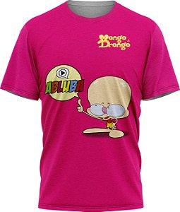 Drongo Abluba - Camiseta - Pink - Malha Poliéster