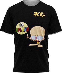 Drongo Abluba - Camiseta - Preta - Malha Poliéster