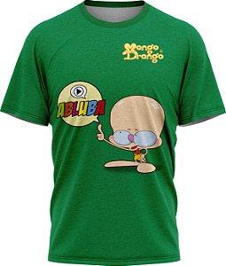 Drongo Abluba - Camiseta - Verde - Malha Poliéster