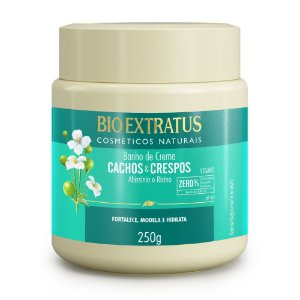Banho de Creme Cachos & Crespos 250g Bio Extratus