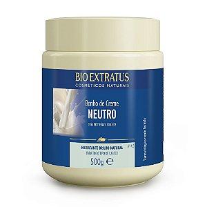 Banho de Creme Neutro 500g Bio Extratus