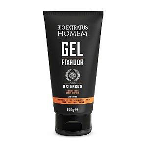 Gel Fixador Homem Cabelo & Barba 150g Bio Extratus