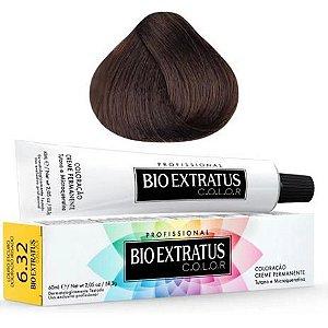 Coloração Bio Extratus Color 60ml 6.32 - Louro Escuro Dourado Irisado