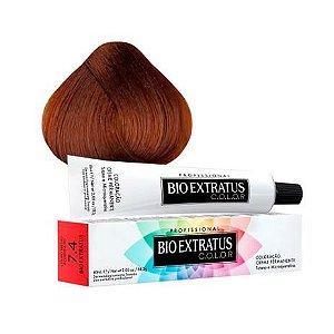 Coloração Bio Extratus Color 60ml 7.4 Louro Médio Acobreado