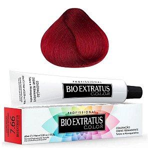 Coloração Bio Extratus Color 60ml 7.66 - Louro Médio Vermelho Intenso