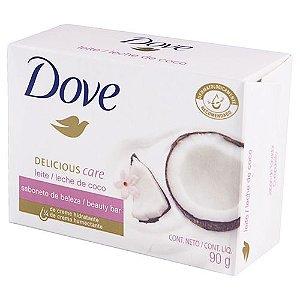 Sabonete Em Barra Dove 90g Leite de Coco