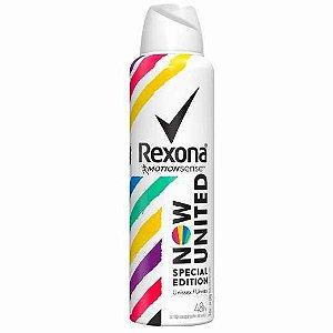 Desodorante Rexona Aerosol Now United 150ml