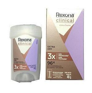 Desodorante Rexona Clinical Stick 48g Women