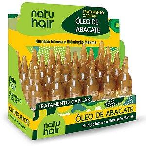 Tratamento Capilar 10ml Óleo de Abacate Natuhair (Unidade)