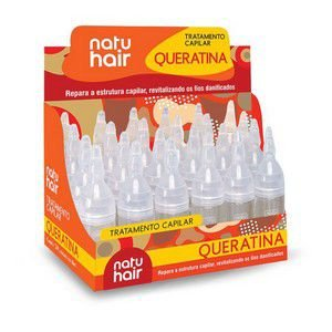 Tratamento Capilar 10ml Queratina Natuhair (Unidade)