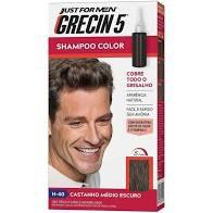 Shampoo Color Grecin 5 Castanho Médio Escuro H 40