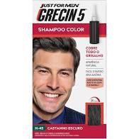 Shampoo Color Grecin 5 Castanho Escuro H 45