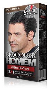 Tonalizante Biocolor Homem Castanho Médio