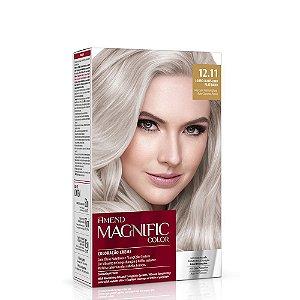 Magnific Color Kit 12.11 Louro Claro Platinado Amend